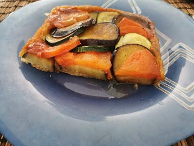 Ración de Tarta Tatín de Verduras