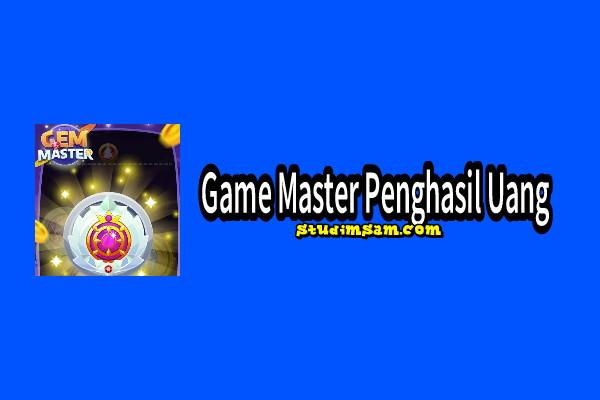 game master penghasil uang