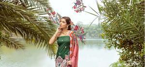 Saira Rizwan x Ittehad Textiles, Luxury Lawn '21