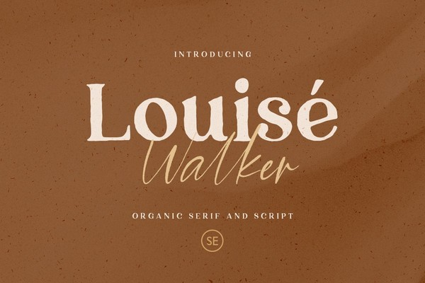Louise Walker Font Duo