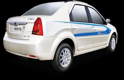 New 2016 Mahindra E Verito rear view image