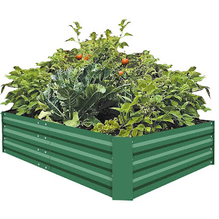 galvanized raised bed, raised bed, gardening, garden kit, easy garden