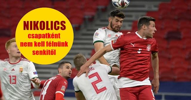 Nikolics Nemanja: Csapatként nem kell félnünk senkitől