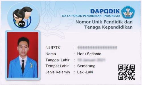 Foto Review Cara Cek Status dan Cetak NUPTK di Kemdikbud Via Online Terbaru - www.herusetianto.com
