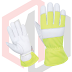 Assembly gloves lined in grain leather high dexterity pattern