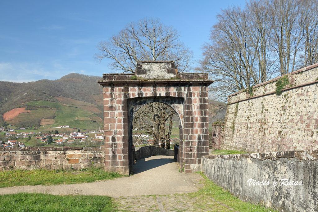 Puerta del rey de la Cuidadela