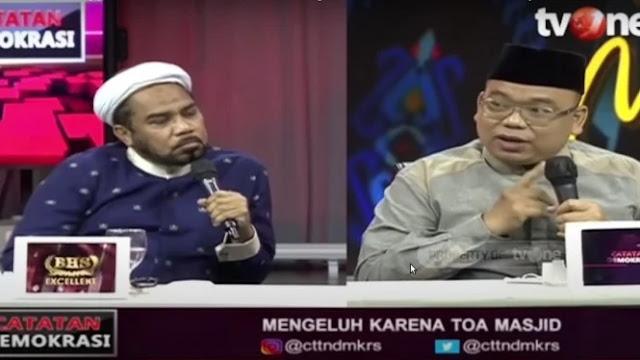Panas, Ali Ngabalin Vs Mustofa Nahrawardaya soal Toa Masjid