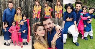 Syed Jibran and Afifa Jibran Celebrating Eid with Kids