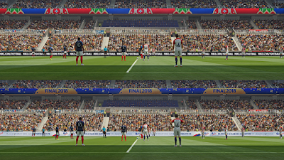 PES 2019 FIFA World Cup 2018 Stadiumboards by Ginda01