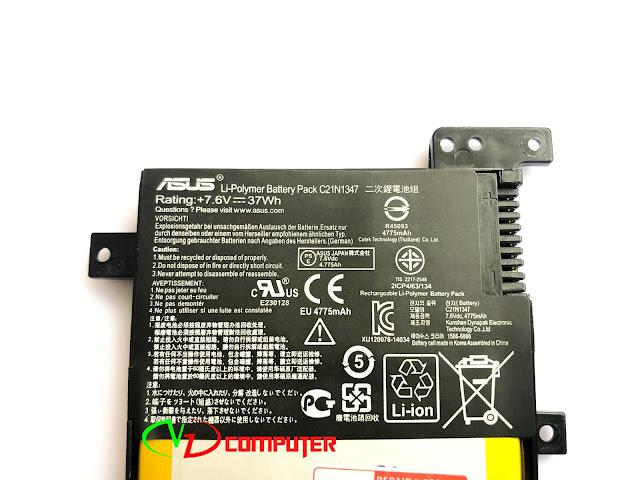 Pin Zin Asus X555 , F554 , F555 , K555, X554,A455, A555
