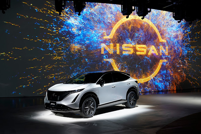 The new Nissan Ariya - all-electric Coupé Crossover