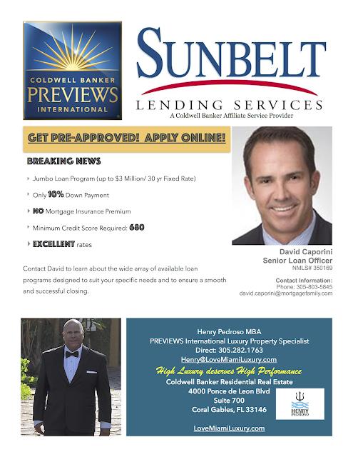 Miami Real Estate - Live the Magic!: Sunbelt Lending ...