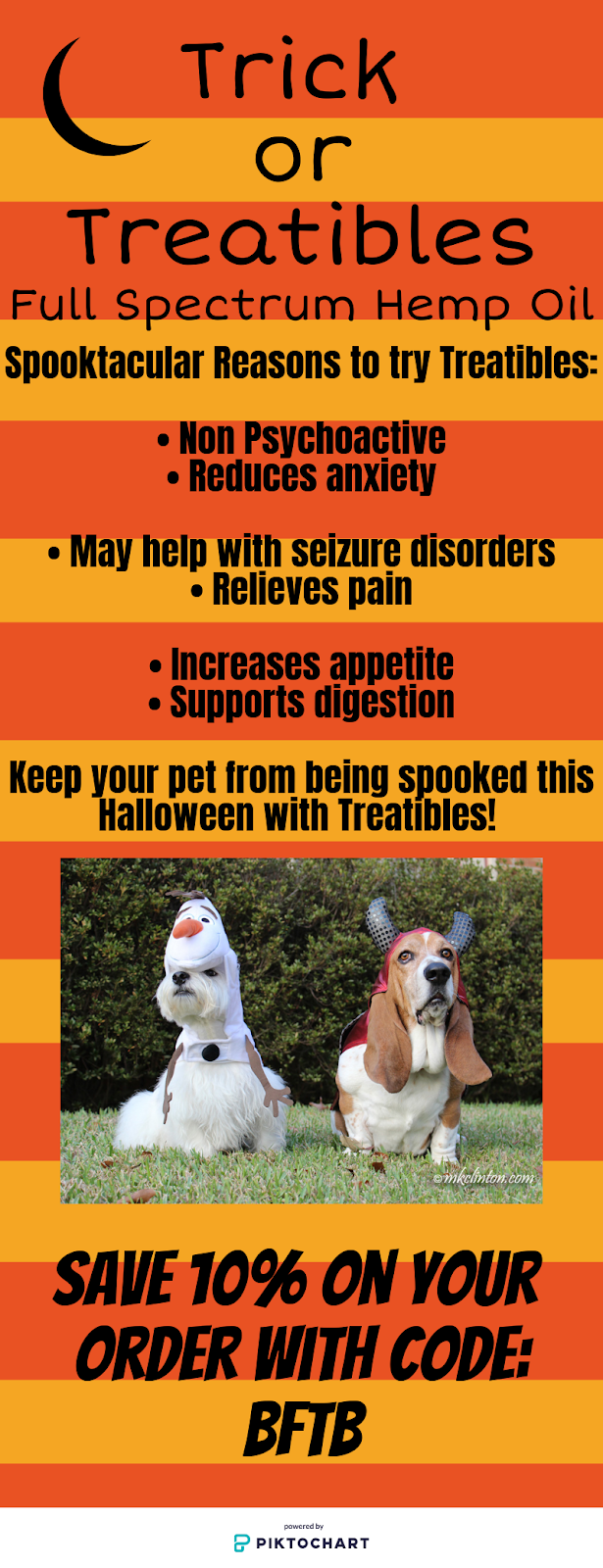 Reasons to use Treatibles this Halloween