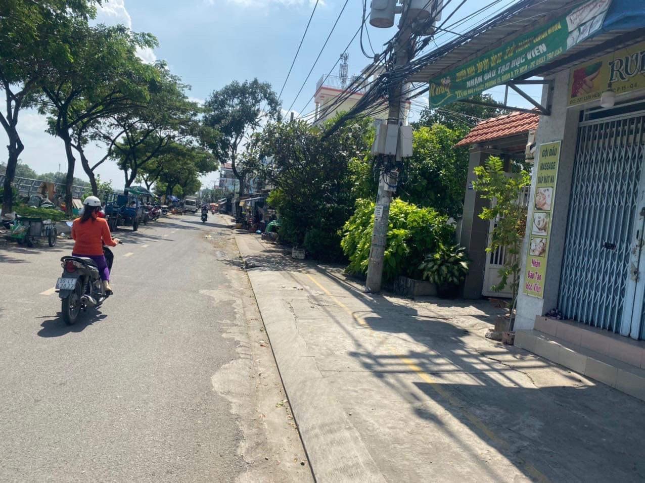 Bán nhà 3 tấm Hẻm xe hơi đường Lưu Hữu Phước phường 15 Quận 8