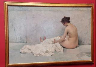 Madrid. Casa-Museo de Sorolla. Después del Baño.