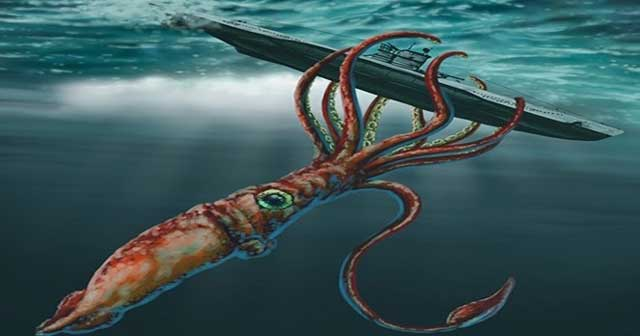 Makhluk Laut Raksasa Yang Meneror Para Pelaut