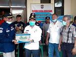 Perhutani Ciamis Berikan Bantuan Kepada Korban Banjir