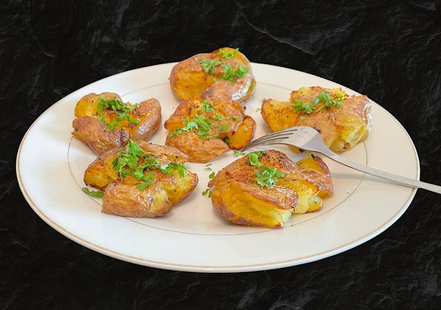 Pomme de terre Tapées  recette facile