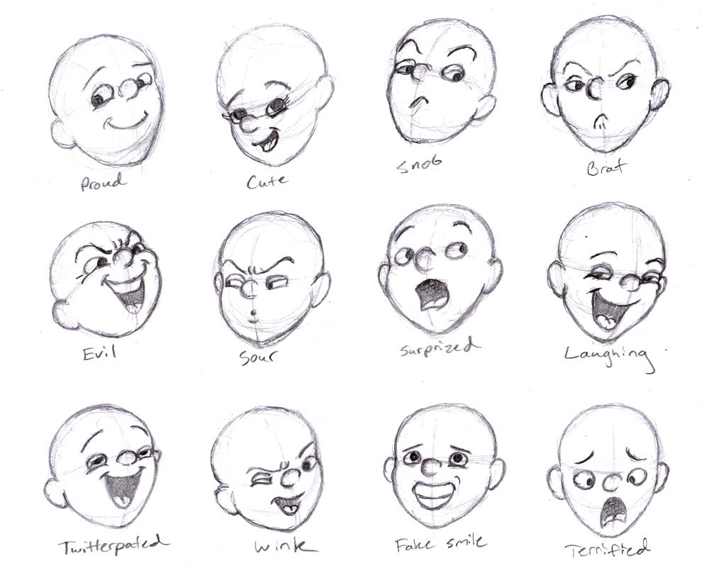 animation expressive facial