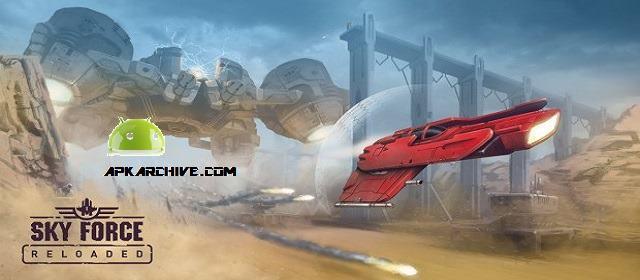 Sky Force Reloaded v1.95 Mod Hileli Oyun apk indir