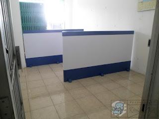 Sekat Ruang Kantor Minimalis Praktis Cukup Diletakan Di Ruangan