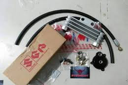 Pasang Oil Cooler Di Yamaha Byson, Cukup Rogoh Kocek 1 Jutaan
