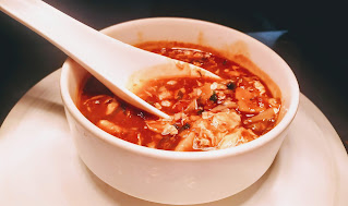 Serving chicken hot and sour soup for chicken hot n sour soup recipe