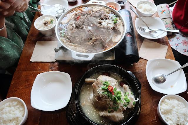 Bulgogi & Samgyetang @ Halal Kitchen, Samcheong-dong