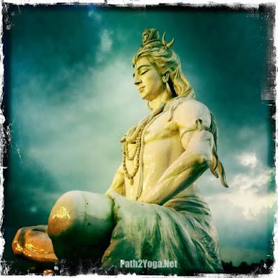 Parmarth Niketan Shiva Statue