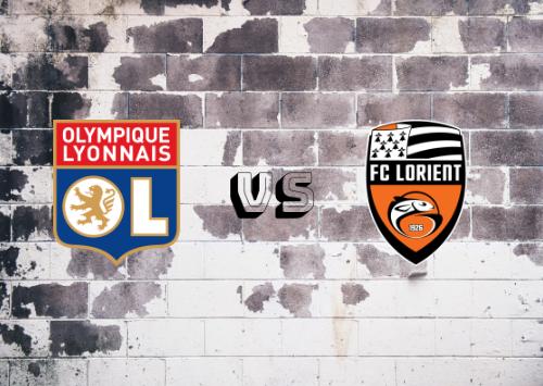 Olympique Lyon vs Lorient  Resumen