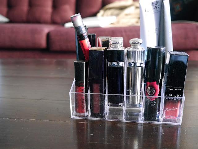 lipstick holder for vanity