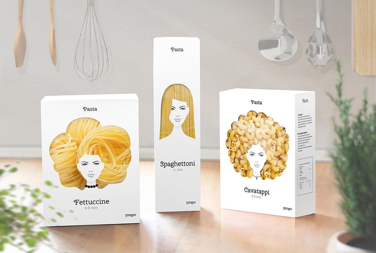 Good Hair Day Pasta (Concept)