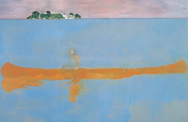 """100 Years Ago"" by Peter Doig"