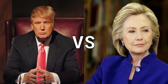 Opinion : The clash between Hilary Clinton and Donald Trump through the eye of Wall Street