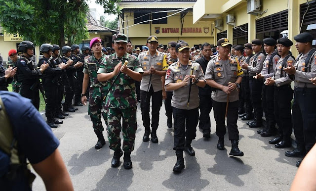 Panglima TNI Kunjungi Markas Polresta dan Kodim 0735 di Surakarta