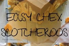 EASY CHEX SCOTCHEROOS