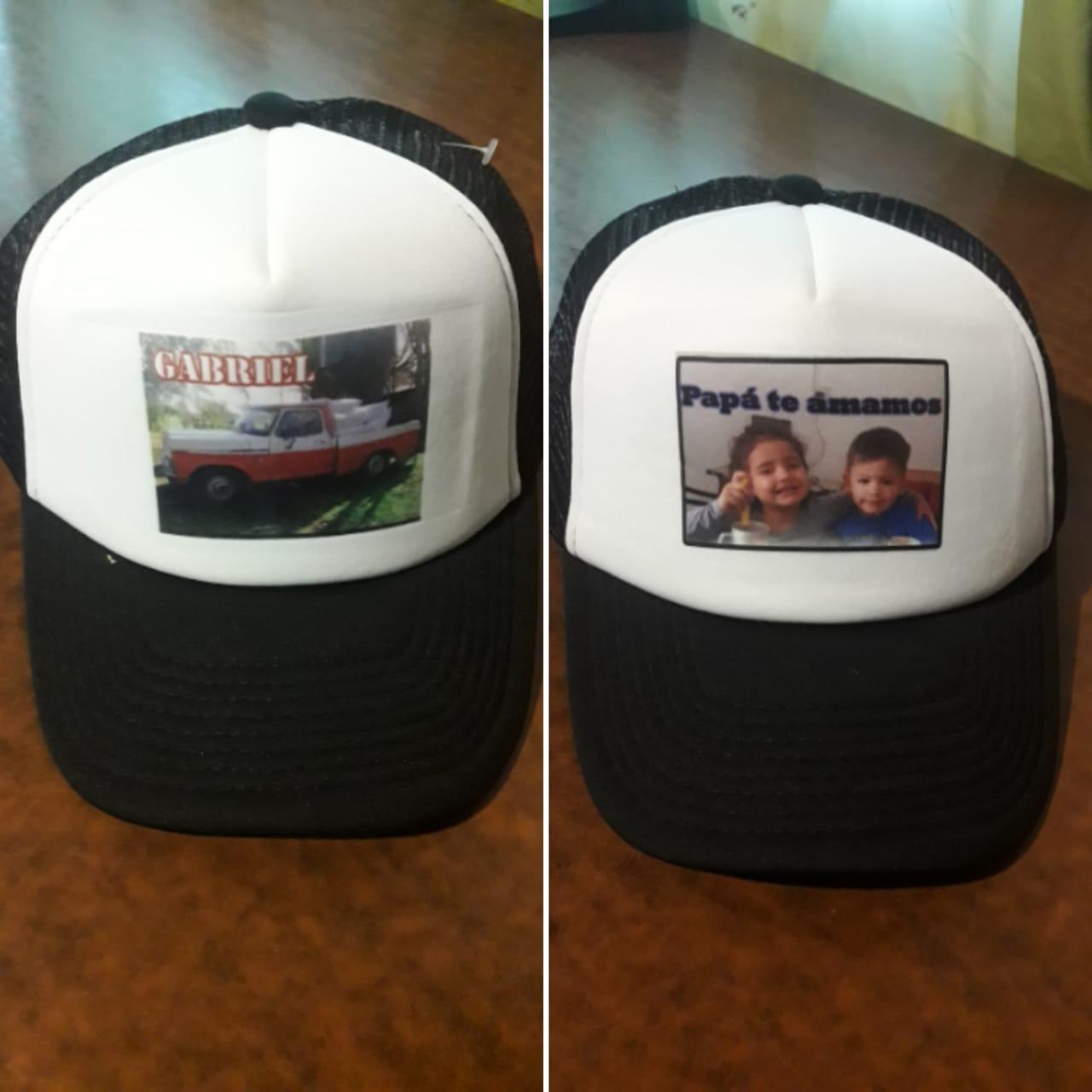 gorras personalizadas con fotos