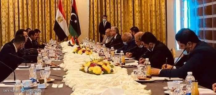 اجتماعات الوفد المصري في طرابلس زيارة لها أسباب
