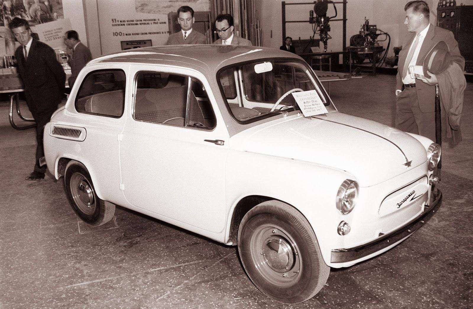 ЗАЗ 965, 1961 год, Загреб