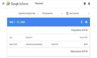 Penyebab dan menyikapi Automatic Payments pending di adsense