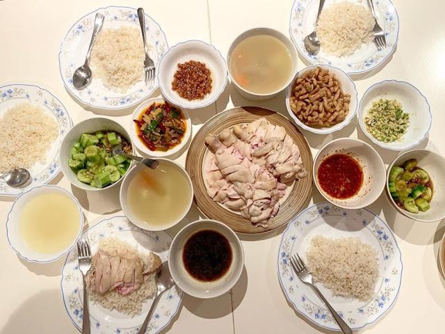 Cơm gà Singapore ngon nhất thế giới