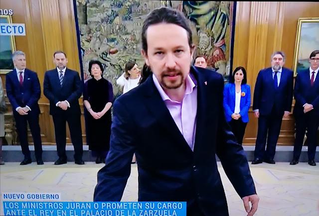 Toma de posesión del nuevo Gobierno de Coalición en Zarzuela