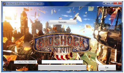 This is Bioshock Infinite Steam Key Generator 2013 SCREENSHOT