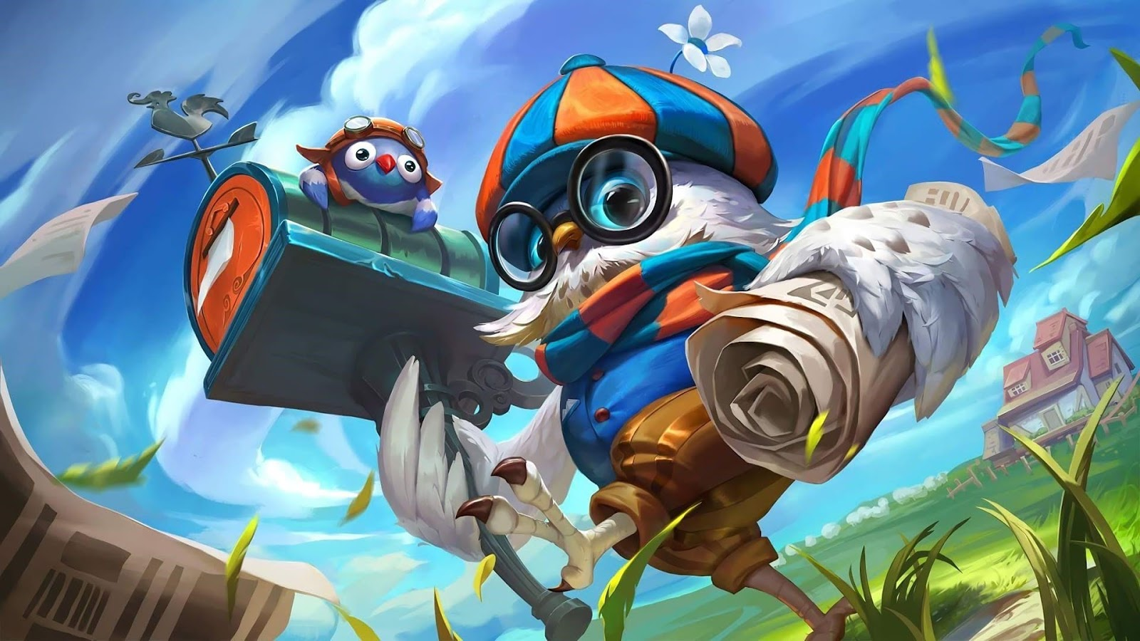 Wallpaper Diggie Pigeoneer Skin Mobile Legends HD for PC