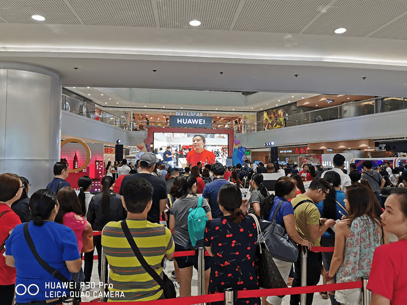 Huawei Y9 Prime 2019 now in PH stores, it drew long lines as expected