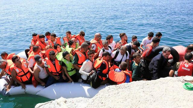 Απόβαση 26 Τούρκων πολιτών στη Χίο