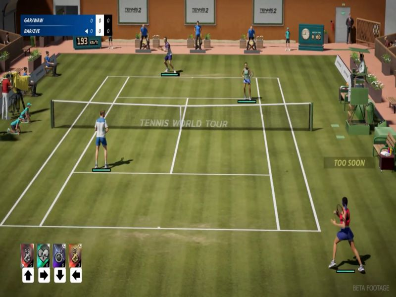 Download Tennis World Tour 2 Ace Edition Free Full Game For PC