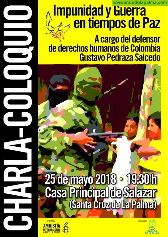 """CHARLA-COLOQUIO """"Impunidad y guerra en tiempos de paz"""""""