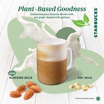 Menu baru Starbucks, Almond Milk