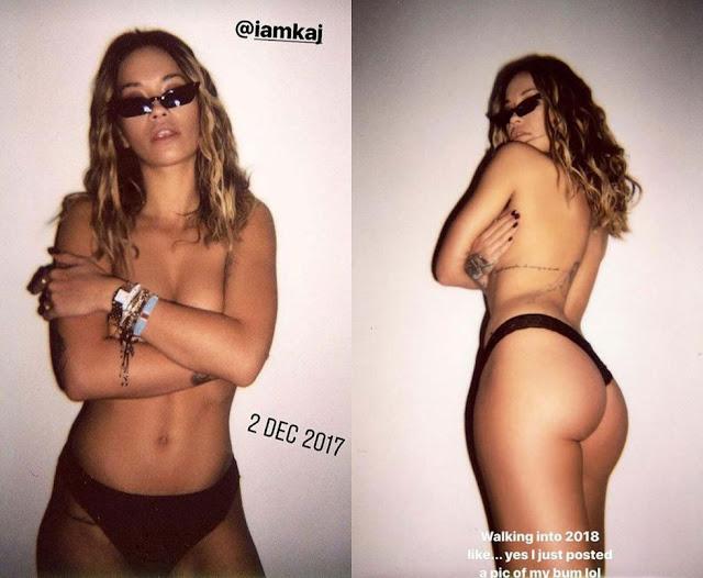 Rita Ora boob, Nude, Nipslip, Topless Photo